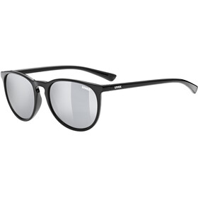 UVEX LGL 43 Okulary, black/litemirror silver